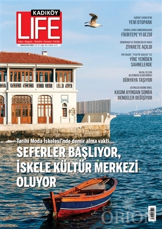 Kadıköy Life Sayı: 101 Eylül - Ekim 2021