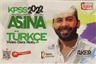 2022 KPSS Aşina Türkçe
