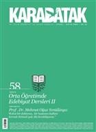 Karabatak Dergisi Sayı: 58 Eylül - Ekim 2021