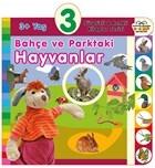 3+ Yaş Bahçe ve Parktaki Hayvanlar