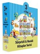 3+ Yaş Sürprizli ve Renkli Kitaplar Serisi (7 Kitap Set)