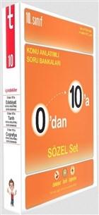 10. Sınıf 0'dan 10'a Konu Anlatımlı Soru Bankaları Sözel Set