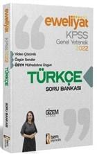 2022 KPSS Evveliyat Lisans Genel Yetenek Türkçe Video Çözümlü Soru Bankası