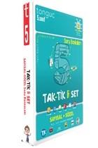 5.Sınıf Tak-Tik'li Sayısal - Sözel Soru Bankası