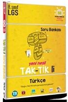 2021 LGS 8. Sınıf Türkçe Tak-Tik'li Soru Bankası