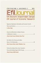 Efil Ekonomi Araştırmaları Dergisi; Cilt: 4 Sayı: 3