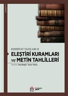 Eleştiri Kuramları ve Metin Tahlilleri