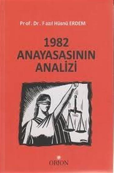 1982 Anayasasının Analizi