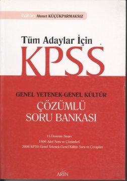 KPSS Genel Yetenek-Genel Kültür Çözümlü Soru Bankası