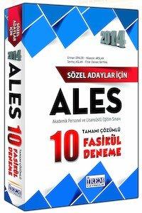 ALES Sözel 10 Fasikül Deneme Sınavı Tamamı Çözümlü 2014