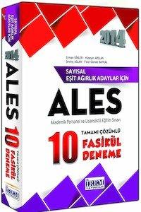 ALES Sayısal 10 Fasikül Deneme Sınavı Tamamı Çözümlü 2014