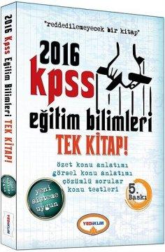 KPSS 2016 Eğitim Bilimleri Konu Anlatımlı Tek Kitap