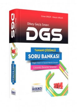 2014 DGS Tamamı Çözümlü Soru Bankası