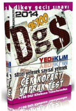 2014 DGS Sözel ve Sayısal Yetenek Çek Kopart Yaprak Test