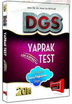 2014 DGS Çek Kopart Yaprak Test