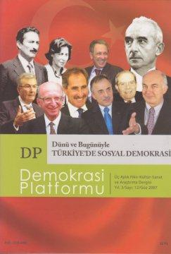 Dünü Bugünüyle Türkiye'de Sosyal Demokrasi