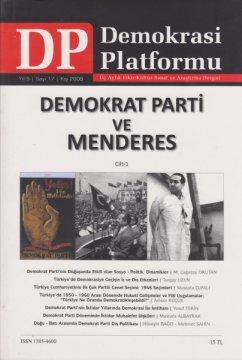 Demokrat Parti ve Menderes I. Cilt