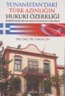 Yunanistandaki Türk Azınlığın Hukuki Özerkliği