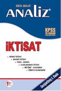 Analiz İktisat KPSS ve Kurum Sınavlarına Yönelik Pelikan Yayıncılık 2014