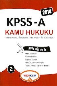 KPSS A Kamu Hukuku Konu Anlatımlı Yediiklim Yayınları 2014
