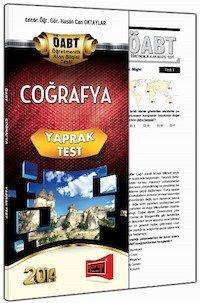 KPSS ÖABT Coğrafya Öğretmenliği Yaprak Test -2014
