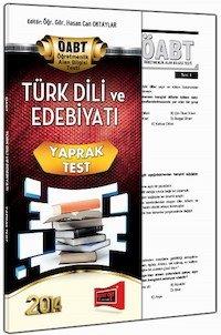 KPSS ÖABT Türk Dili ve Edebiyatı Öğretmenliği Yaprak Test - 2014