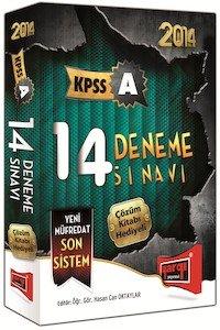 KPSS A Grubu 14 Deneme Sınavı Çözümlü - 2014