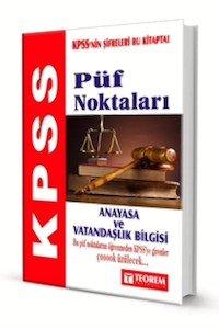 KPSS Anayasa ve Vatandaşlık Bilgisi Püf Noktaları  2014