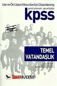 KPSS Temel Vatandaşlık Konu Anlatımlı Genel Kültür - Genel Yetenek Lise ve Önlisans 2014