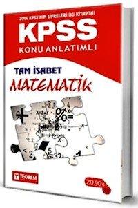 KPSS Tam İsabet Matematik Konu Anlatımlı Teorem Yayıncılık 2014