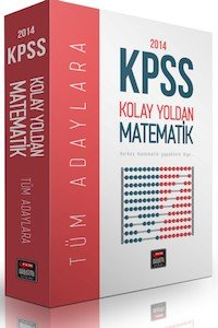KPSS Kolay Yoldan Matematik 3 Kitap  2014