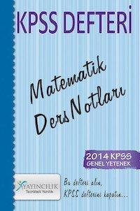 KPSS Defteri Matematik Ders Notları 2014