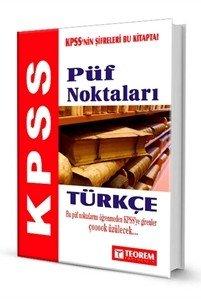 KPSS Türkçe Püf Noktaları  2014