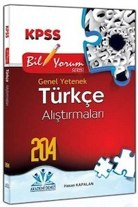 KPSS Türkçe Alıştırmaları 2014