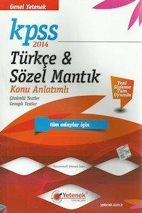 KPSS Türkçe ve Sözel Mantık Konu Anlatımlı 2014