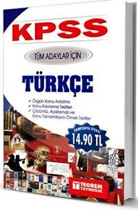 KPSS Tüm Adaylar İçin Türkçe Konu Anlatımlı 2014