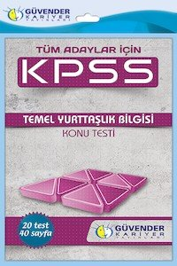 KPSS Temel Yurttaşlık Konu Testi  2014