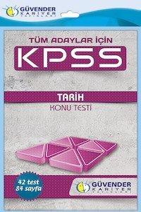 KPSS Tarih Konu Testi  2014