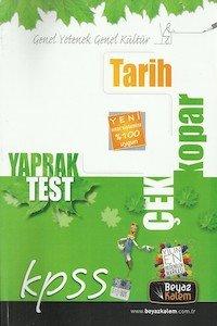 KPSS Tarih Çek Kopar Yaprak Test  2014