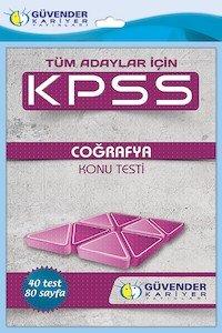 KPSS Coğrafya Konu Testi  2014