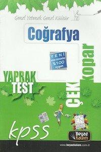 KPSS Coğrafya Çek Kopar Yaprak Test 2014