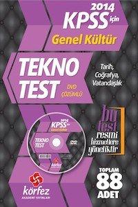 KPSS Genel Kültür Tekno Test  2014