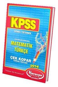 KPSS Genel Yetenek Yaprak Test 2014