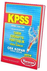 KPSS Genel Kültür Yaprak Test  2014