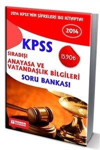 KPSS Sıradışı Anayasa ve Vatandaşlık Bilgileri Soru Bankası 2014