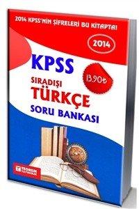 KPSS Sıradışı Türkçe Soru Bankası 2014