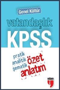 KPSS Vatandaşlık Genel Kültür Özet Anlatım - Cep Boy