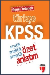 KPSS Türkçe Genel Yetenek Özet Anlatım - Cep Boy