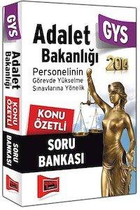 Adalet Bakanlığı GYS Konu Özetli Soru Bankası - 2014