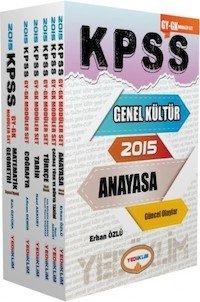 KPSS GK. GY. Konu Anlatımlı Modüler Set  2015
